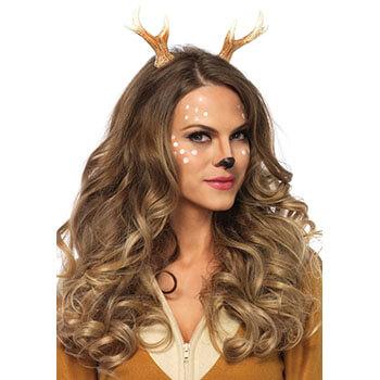 Reh schminken - Reh Bambi Geweih