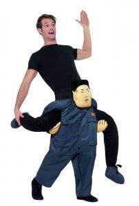 Diktator Huckepack Kostüm