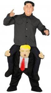 Präsident Kostüm Huckepack
