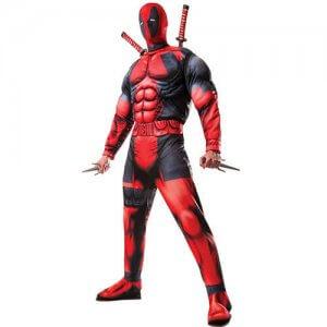 Deadpool Kostüm Deluxe original