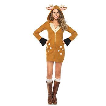 Reh Make-up - Bambi Reh Kostüm