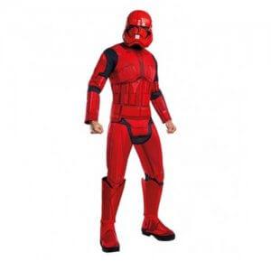 star wars Stormtrooper kostüm rot