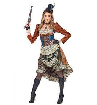 Sessionsmotto Aachen - viktorianisches steampunk damenkostüm
