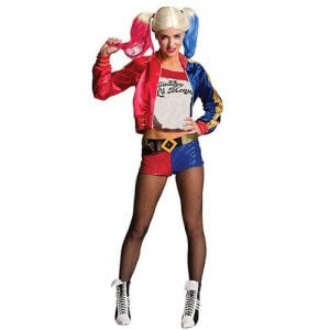 Harley Quinn Suicide Squad Joker Kostüm Damen
