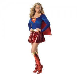 Superman Superwoman kostüm Damen