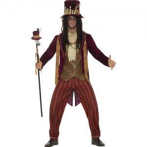 Voodoo Zauberer Puppe Herren Kostüm