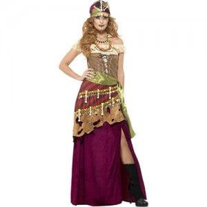 Voodoo Priesterin Damen Kostüm Fasching