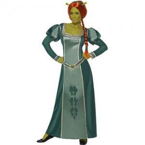 Shrek Fiona Disney Kostüm Damen