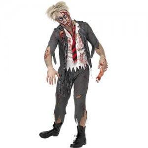 Zombie Kostüm Herren Horror