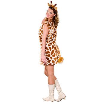 Giraffe schminken - Giraffen Kleid