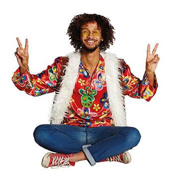 Lumpenball - Hippie Dude Kostüm