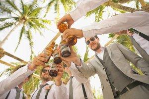 Vatertag Tour Männer Tour Bier anstoßen