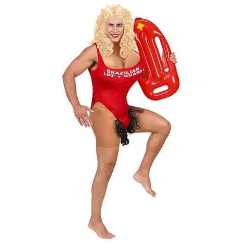 lustiges Rettungsschwimmerkostüm für Männer