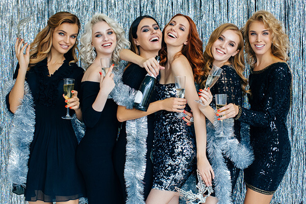 Geburtstagsparty 30 Geburtstag Girls Glitzer
