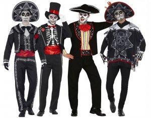 Kostüme für Männer zum Tag der Toten Halloween