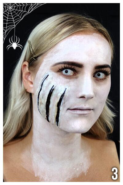 Horror Make Up selber schminkenAnleitung