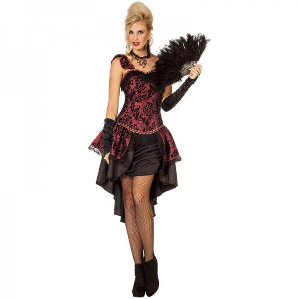 20er Jahre Burlesque Kleid Damen Kostüm