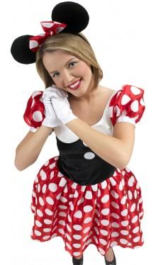 Minnie Mouse Maus Kostüm für Damen