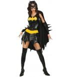 Sexy Batgirl Kostüm für Damen