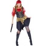 Cannongirl Piratin Kostüm