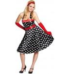 50er Jahre Kleid Kostüm für Damen